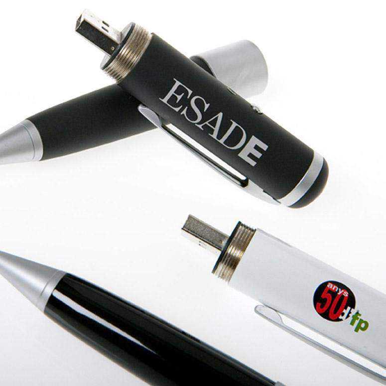 Bolígrafos Pen drive con grabación