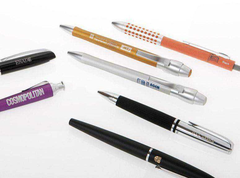 Bolígrafos, rollers y portaminas