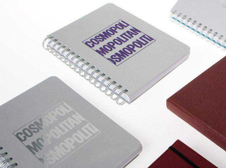Libretas con tapas de aluminio
