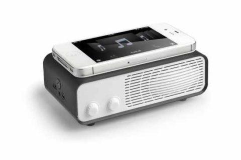 Amplificador retro sin cables negro Ref. 5112BK