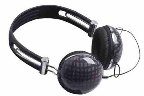 Auriculares color gris de diseño Cacharel