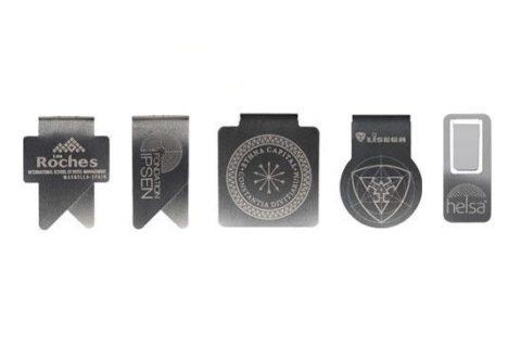 Clip de metal personalizado en láser todos los modelos