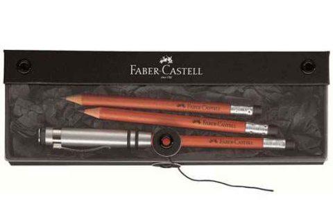 Estuche lápiz alargador marrón Faber-Castell Ref. Perfecto