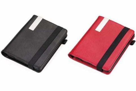 Funda iPad en símil piel con clip metálico Ref. BOK17RD