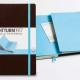 Libreta bicolore con de color a juego