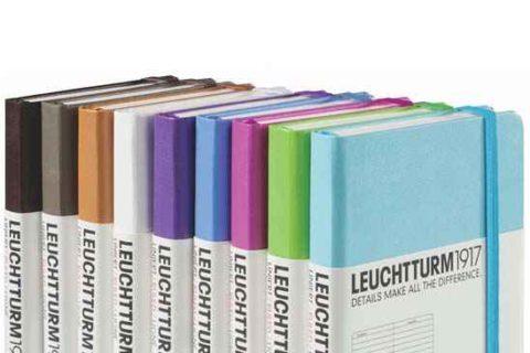 Libreta de notas clásica con cinta elástica Leuchtturm1917