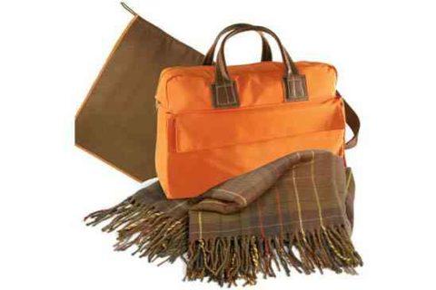 Set bolsa y manta de viaje